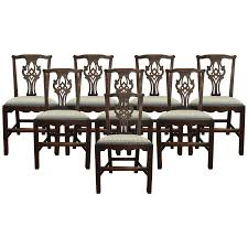 Chippendale Dining Room Set by Viyet Designer Furniture Seating Antique 18th Century