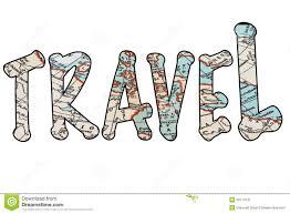 travel clipart images The word travel in isolatation stock illustration illustration jpg