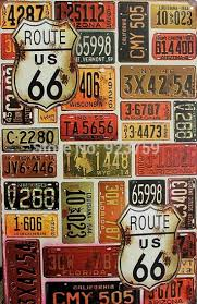 deco route 66 68 best retro american metal signs images on pinterest tin signs