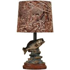 huntington bronze table lamp with faux marble accent walmart com