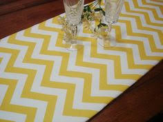 fabric for table runners wedding yellow blue table runner wedding 13 x 52 table cloth