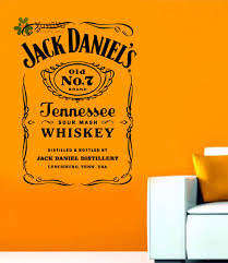 Jack Daniels Flag Yoyoyu Wandtattoos Jack Daniels Jd Wandkunst Aufkleber Jennesse
