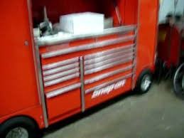 Tool Cabinet With Wheels Fancy Snap On Tool Box With Chrome Wheels Youtube