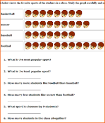 bar graph worksheets for 1st grade worksheets