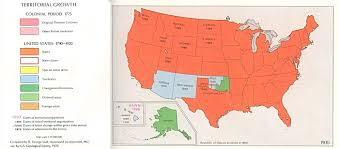 Image Of United States Map by United States Territorial Growth Map 1900 Full Size