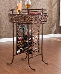 metal wine rack table top 10 interesting metal wine racks for your dining room cute