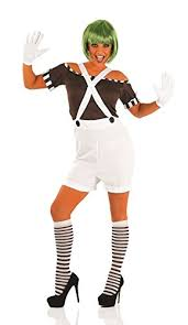 oompa loompa costume oompa loompa fancy dress costume wig s us