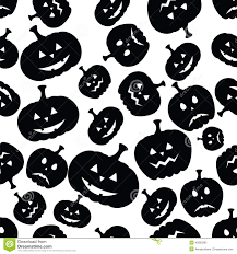 seamless halloween background halloween horror symbols seamless pattern background stock vector