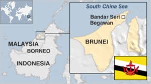 brunei map in world brunei country profile news