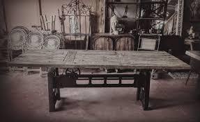 decoration industrielle vintage vitadeco création table bois u0026 métal mobilier et objet