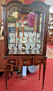 Mahogany Display Cabinets With Glass Doors by Antique American Oak Display Cabinet Bookcase Vitrine 2 Arched