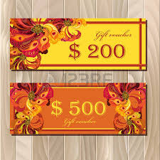 holiday coupon discount card big sale gift certificate or voucher coupon
