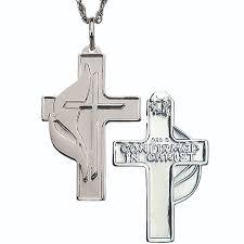 confirmation crosses sterling silver crosses terra sancta guild