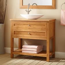 bamboo vanity cabinet bathroom designs for small spaces narrow