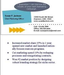 business card resume your resume business card job search success strategies