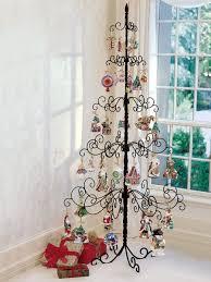wrought iron tree showcase ornaments on the original sturdy