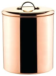 contemporary kitchen canisters contemporary kitchen canisters polished copper cookie jar with