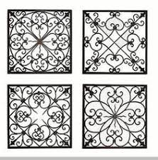 Faux Wrought Iron Wall Decor Easy Diy Iron Wall Art Iron Wall Wrought Iron And Iron