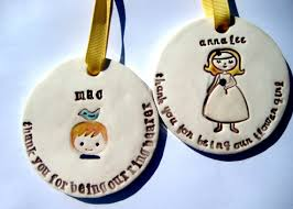 ring bearer and flower set 2 thank you ornaments 2264344