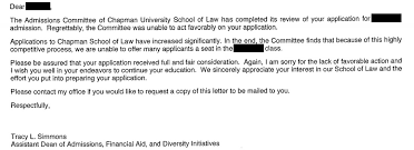 Rejection Letter Recruitment Agency would be student weasels acceptance out of school after