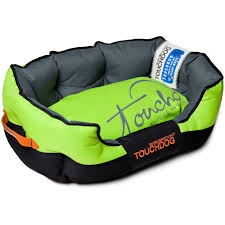Tough Dog Bed Toughdog Performance Max Sporty Comfort Cushioned Dog Bed Pb38gn