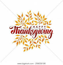 happy thanksgiving day template vector photo bigstock