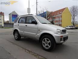 daihatsu terios 4x4 prodej daihatsu terios 1 3i 4x4 automat klima terenní vozidlo