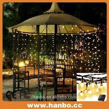 Solar String Lights For Gazebo by Solar Led Ball Light Outdoor Solar Led Ball Light Outdoor