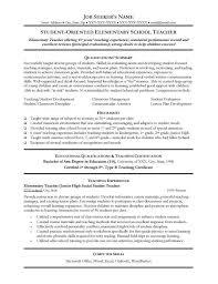 Math Teacher Resume Sample by Resumes For Teachers 3 Resume Tips Teacher Uxhandy Com