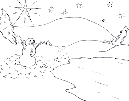 coloring page winter eliolera com