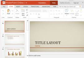 elegant powerpoint template free smooth orange and gray blend
