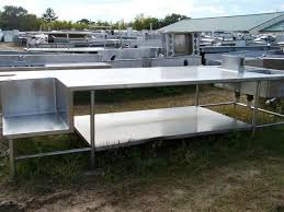 stainless steel prep table used custom stainless a z restaurant equipment buy sell trade