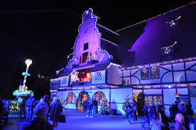 christmas town warms guests u0027 holidays at busch gardens