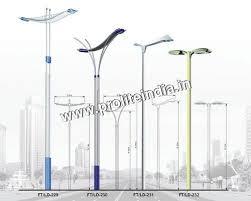 decorative street light poles street light poles exporter supplier manufacturer in secunderabad