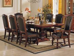 Solid Wood Formal Dining Room Sets Magnificent Dining Tables And Chairs Set Acacia 2 Tone Solid Wood