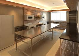 stainless steel kitchen island with seating island worktable from stainless steel kitchen intended for with