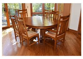 Mission Dining Room Chairs by Mission Style Dining Room Set Oak Dining Tables Provisions Dining