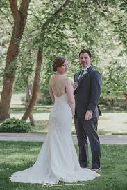 intimate back yard wedding in logan utah becky and rick
