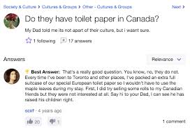 What Is A Meme Yahoo Answers - toilet papers in canada yahoo answers know your meme
