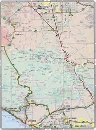 California Road Map Ventura County Map