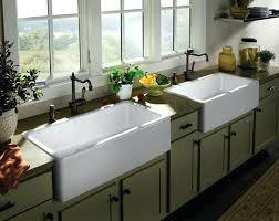 pictures of farmhouse sinks best kitchen faucets for farmhouse sinks clickcierge me