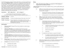 template informative speech examples