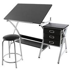 Desk For Drawing Folding Craft Table Ebay