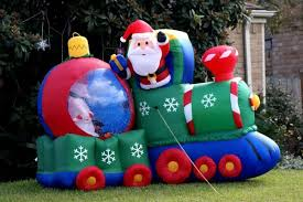 christmas inflatables outdoor outdoor decorations for the christmas season