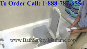 Neptune Recliner Bath Lift Lightweight Portable U0026 Reclining Bellavita Bathtub Lift Youtube