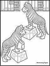 circus train coloring coloring pages