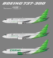 airasia vs citilink citilink boeing 737 300 juergen s paint hangar