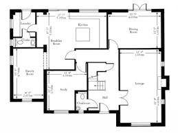 Simple Floor Plans With Dimensions by 4 Basic Floor Plan With Dimensions Surprising Idea Interior Plans