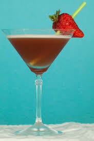 martini strawberry french martini grumpy aussie