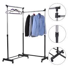 l shape adjustable garment rack closet organizers u0026 garment